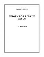 191 Ungen los Pies de Jesús