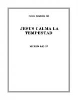 193 Jesús calma la tempestad
