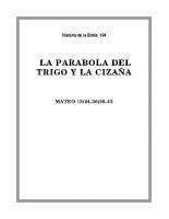 194 La parabola del Trigo y la Cizaña