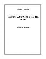 198 Jesús anda sobre el Mar