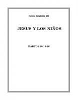 200 Jesús y los niños