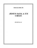 205 Jesús sana a un ciego
