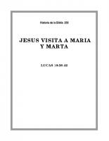 209 Jesús visita a Maria y Marta