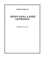 212 Jesús sana a Diez leprosos