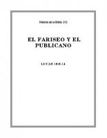 213 El Fariseo y el Publicano