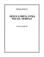 221 Jesús limpia otra vez el templo