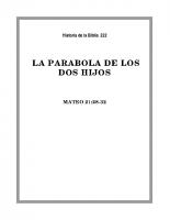 222 La parabola de los dos Hijos