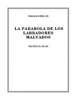 223 La parabola de los labradores malvados