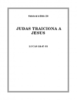 234 Judas traiciona a Jesús