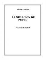 235 La negación de Pedro