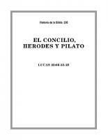 236 El Concilio, Herodes y Pilato