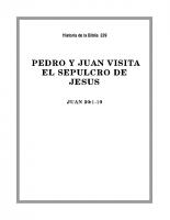 239 Pedro y Juan visitan el sepulcro de Jesús