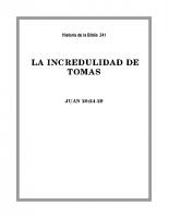 241 La incredulidad de Tomas