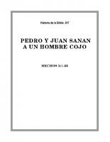 247 Pedro y Juan sanan a un hombre cojo