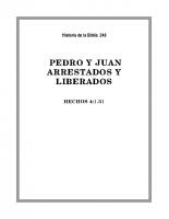 248 Pedro y Juan, arrestados y liberados