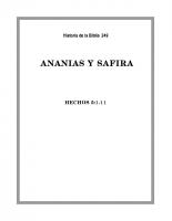 249 Ananias y Safira