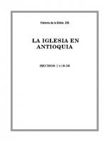 256 La Iglesia en Antioquia