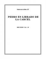 257 Pedro es librado de la carcel