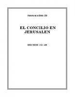 259 El concilio en Jerusalen
