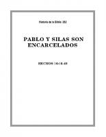 262 Pablo y Silas son encarcelados