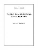 265 Pablo es arrestado en el Templo