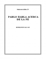 271 Pablo habla acerca de la Fe (1)